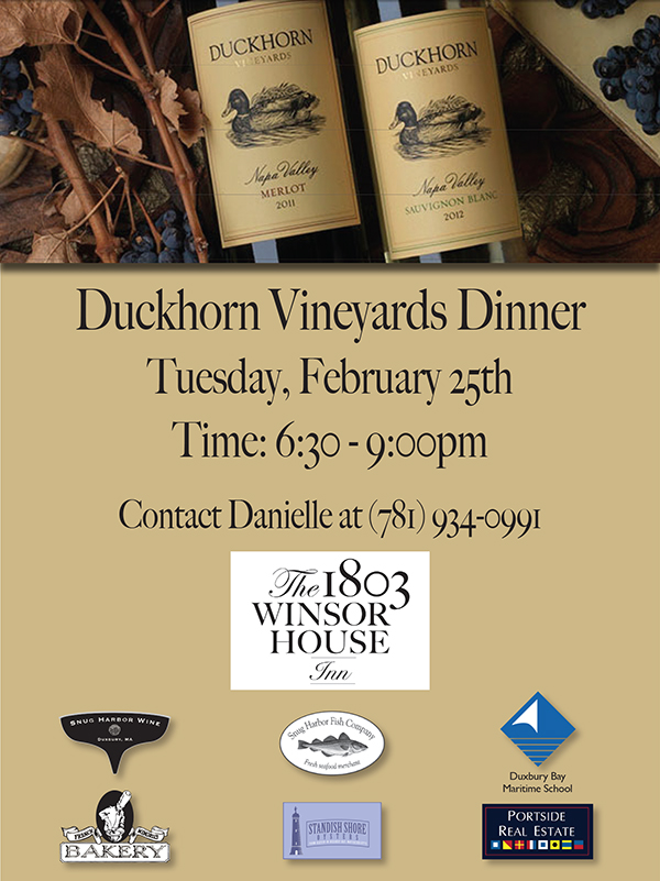 Duckhorn Vineyards Dinner